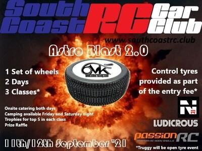 Astro Blast 2.0 2Day GP 1/8 Nitro Buggy