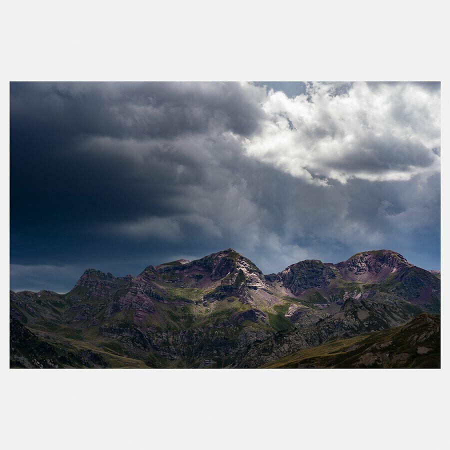 Orage sur les sierras – Espagne