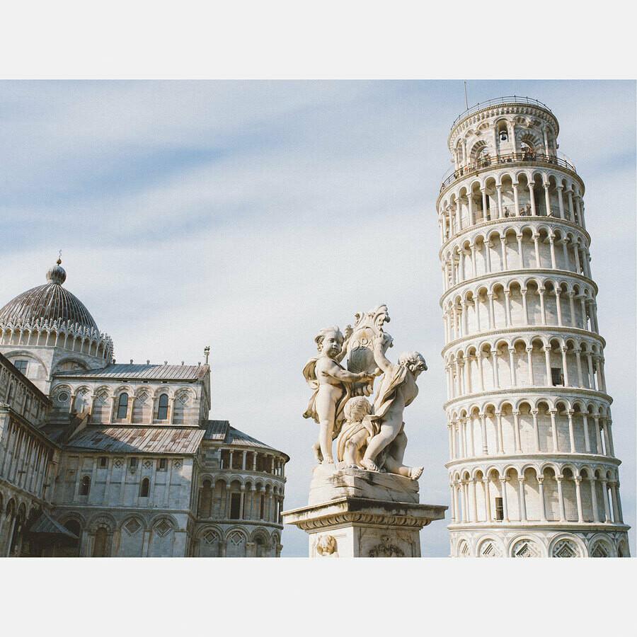 Monuments de Pise- Italie