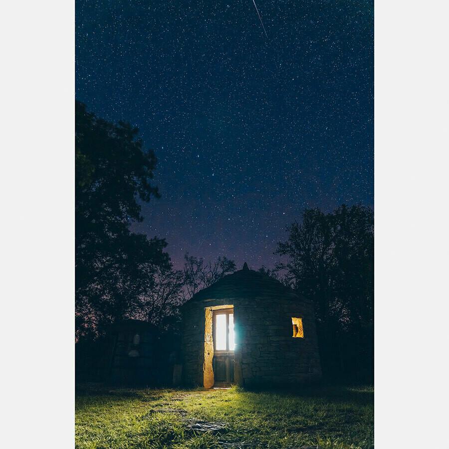 Une nuit étoilée - Quercy - France
