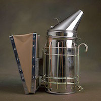 Bee Smoker for Beekeepers | Stainless Steel | Removable Bellow