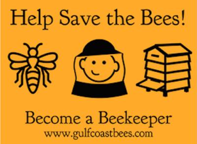 Gulf Coast Beekeepers Association  | Annual Membership w optional Florida State Beekeeper Association Membership