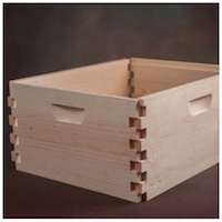 Bee Hive Box | Hive Body | Super Body | 10-frame Langstroth | Unassembled or Assembled