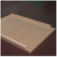 Bee Hive Bottom Board | 10-frame Langstroth | Assembled