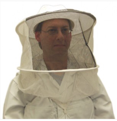Bee Hat Veil Pullover Combi