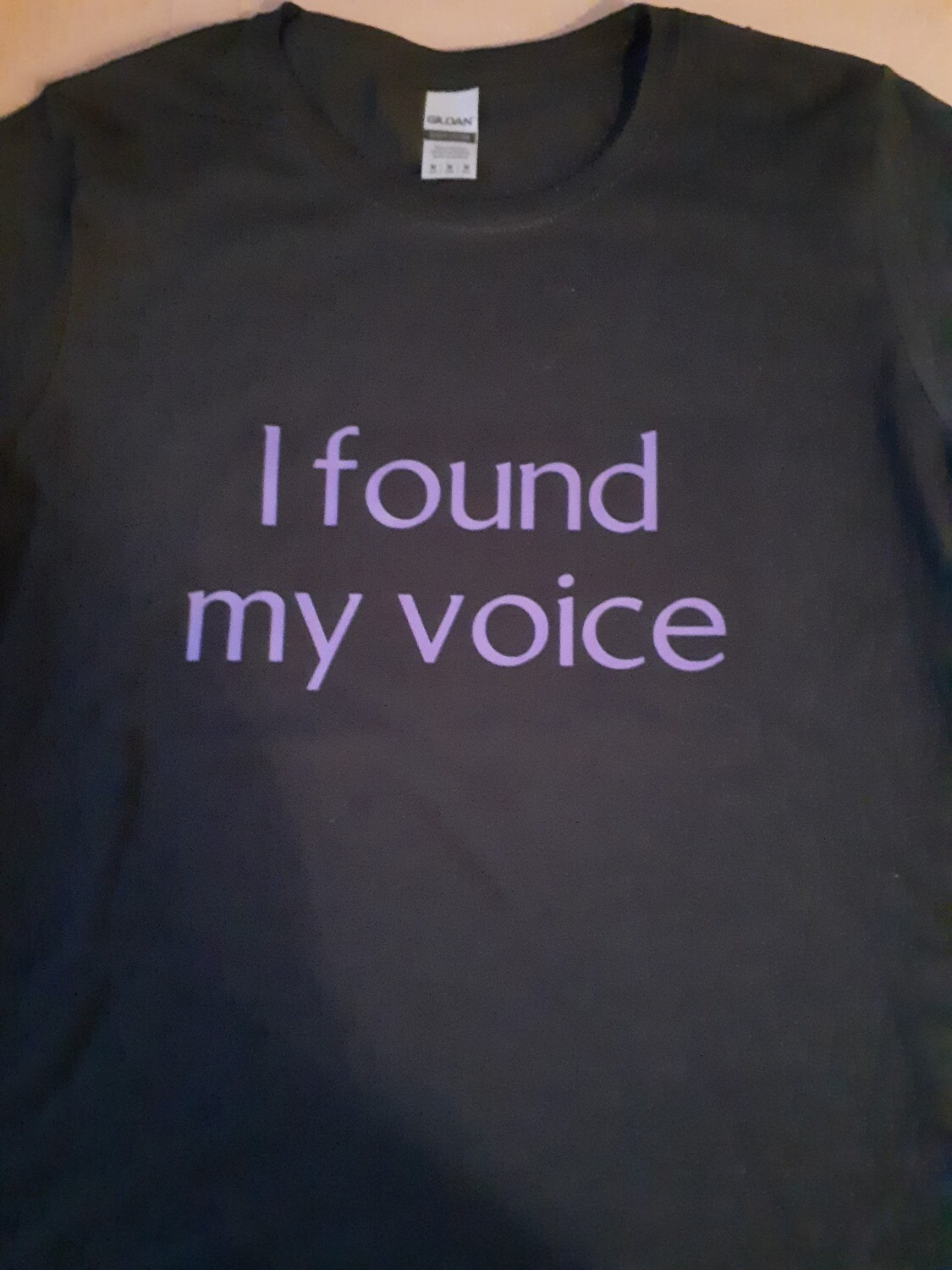 I found my voice -Large