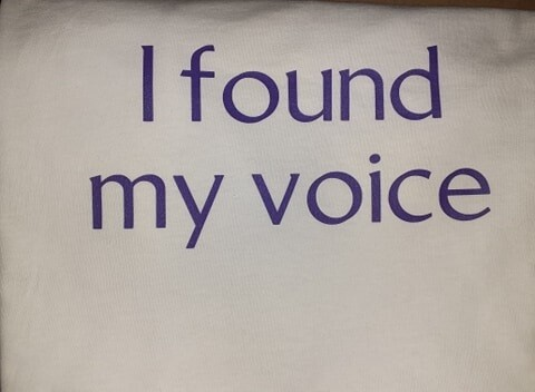 I found my voice-Small
