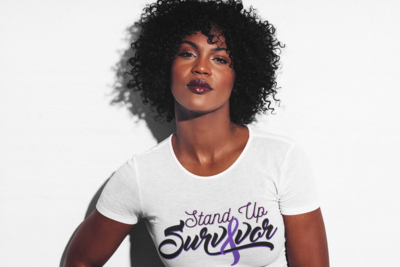 Stand Up Survivor Shirt- Medium