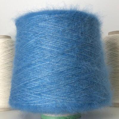 75% кидмохер, 25% шелк Rigo 800м/100гр blue stone
