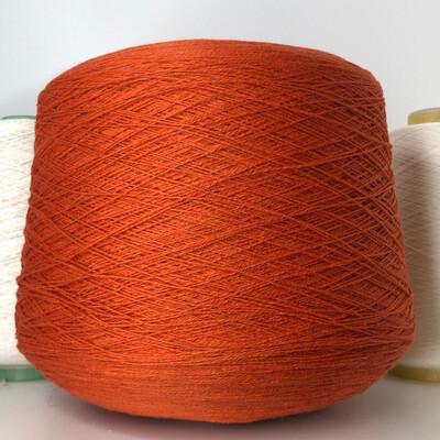 100% кашемир  Modesto Biagioli  1400м /100гр Пряный оранжевый цвет