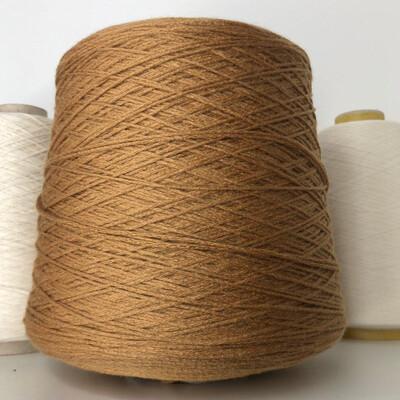 ELISIR - Biella Yarn Кашемир 100%, шнурок, 330м/100гр   Цвет сливочной карамели