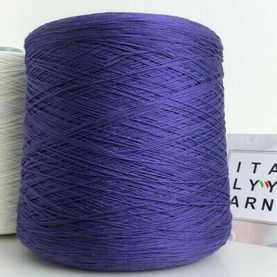 MIRAGE MS  50% шелк, 50% хлопок,  750м/100гр. Фиолетовый