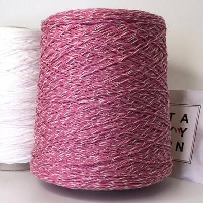Ninetyfive Filpucci 95% кашемир 5 % меринос  280м/100гр. col.536 5 нитей:  4 розовых, 1 светлая