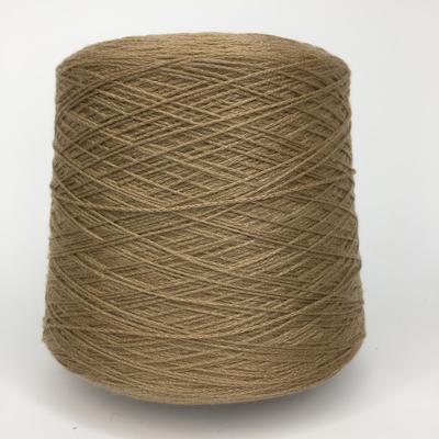 ELISIR - Biella Yarn Кашемир 100%, шнурок, 330м/100гр  Темный песочный