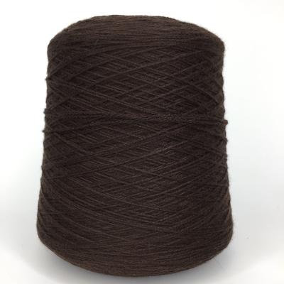 ELISIR - Biella Yarn Кашемир 100%, шнурок, 330м/100гр  тёмный шоколад