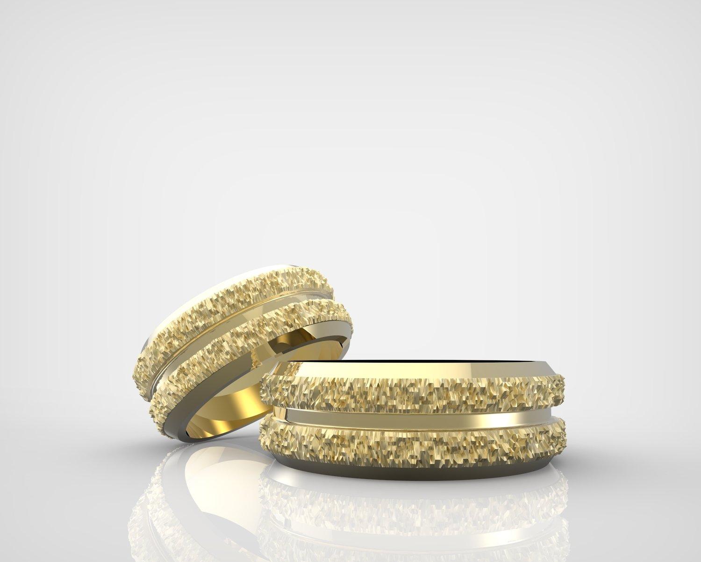 3D model of Wedding Rings