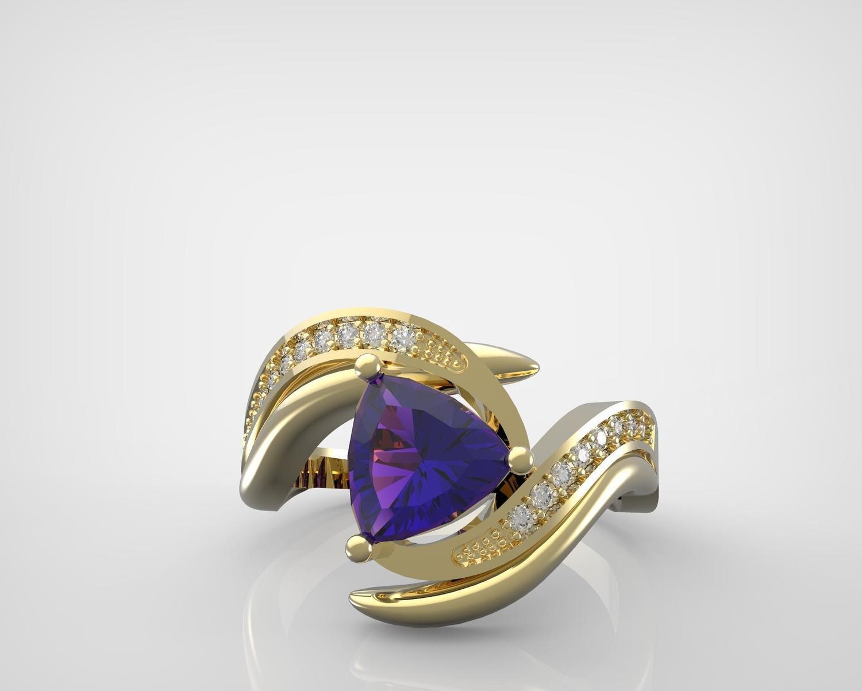 CAD/CAM of Diamond Engagement Ring