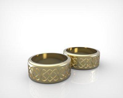 3D Model of Custom Wedding Ring