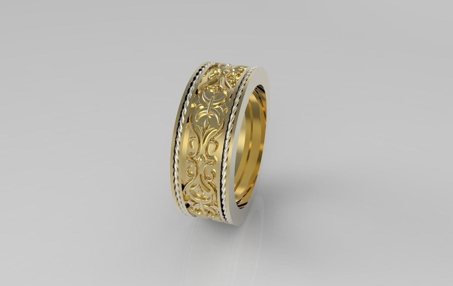 CAD Model of Wedding Ring