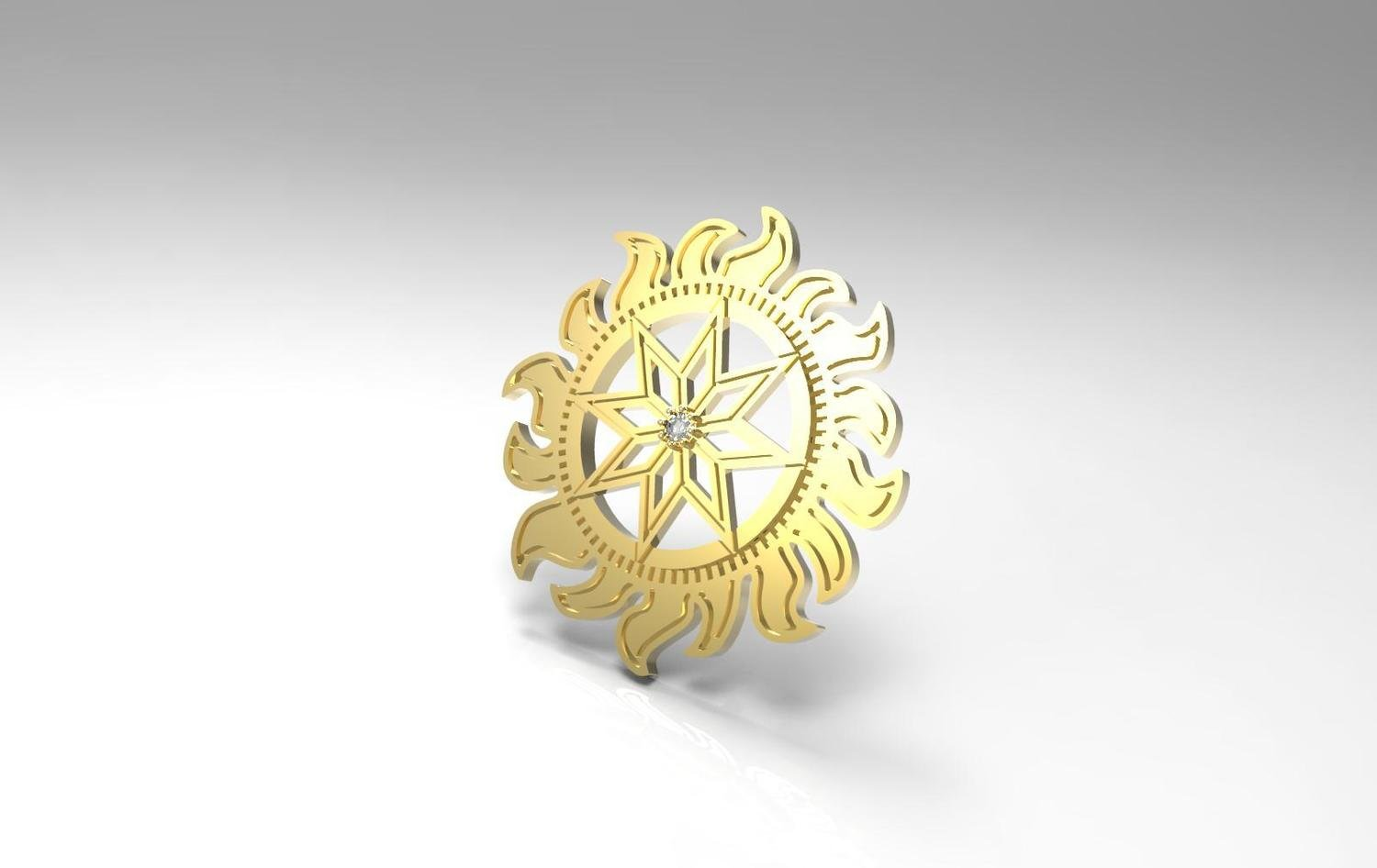 3D CAD Model of Pendant
