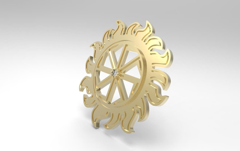 3D CAD Model of Pendant