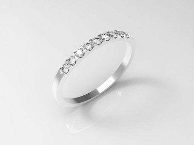 CAD jewelry model (size 6 US)