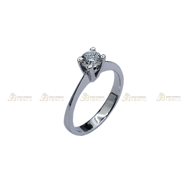 Diamond Ring 0.5 ct, Solitaire, Engagement ring