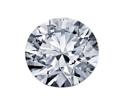 0,5 ct round natural diamond F/VVS2 IGI certificate