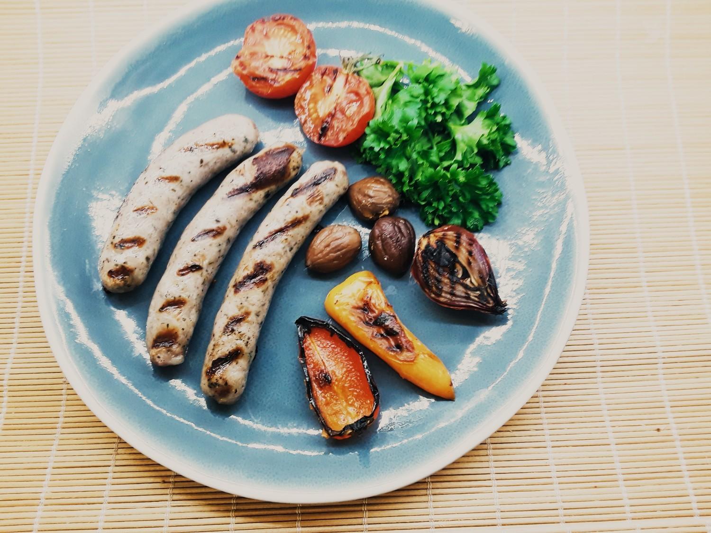 CHIPOLATA - - Raw Pork & Herbs sausage in sheep casing - 1 lb