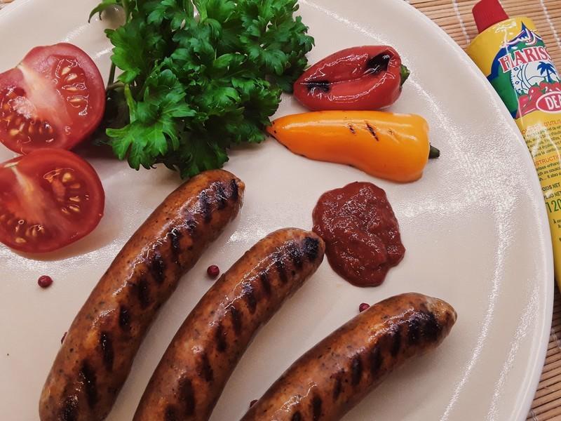 Moroccan Beef Merguez - raw - 1 lb.