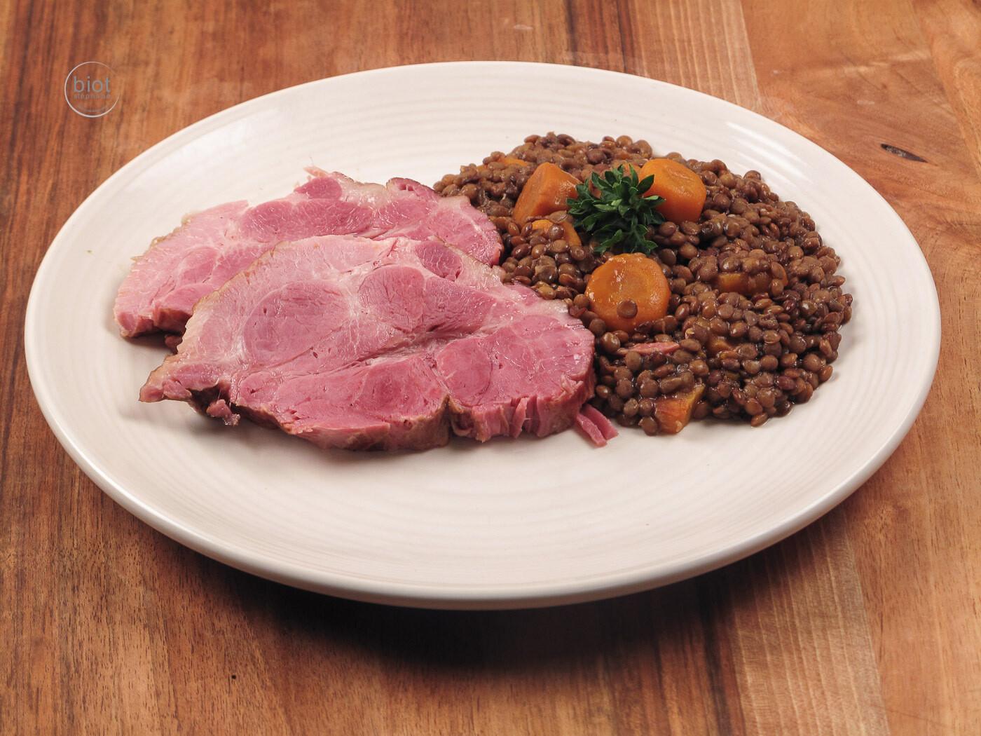 Cured pork cushion meat - Petit Salé - 1 lb.