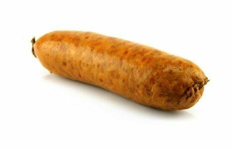 Saucisse Morteau Style - Smoked Pork Sausage
