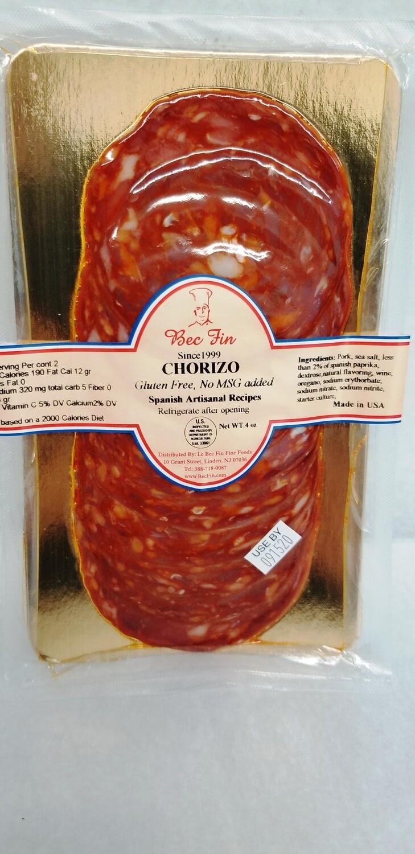 Large Chorizo 4 OZ pack ready to eat