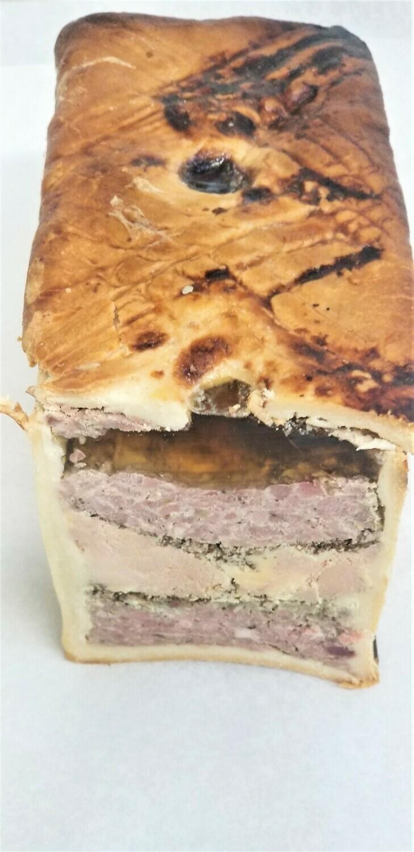Pâté en Croûte Royal - Pâté Wellington with Duck Foie Gras and Black Truffle - 8 oz.