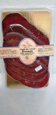 Viande de Grizzon  (Bresaola Air dried beef) 4 OZ pack