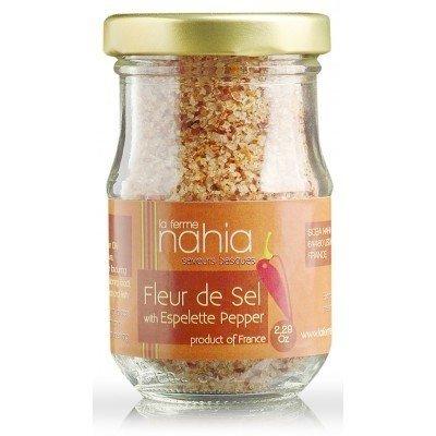Fleur de Sel with Espelette Pepper - 2.29 oz.