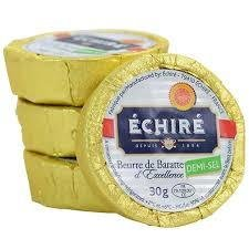 Echiré salted Butter pack of 16 units of 1 oz.