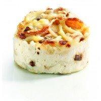 Individual potato casserole with Porcini Mushrooms / Gratin Dauphinois aux Cépes - 6 x 4.23 oz