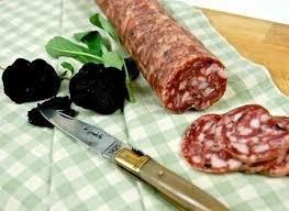 Saucisson D'Arles - Thin pork salumi with Black Truffle - 10 oz