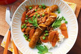"""Chicken Madras Curry Sausage - Raw - """"Pork & Gluten-Free"""" - 1 lb."""