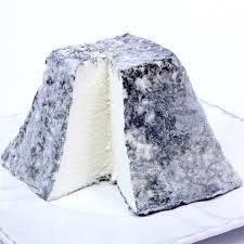 Goat Cheese Ash Pyramid - Chèvre Valençay - 8 oz.