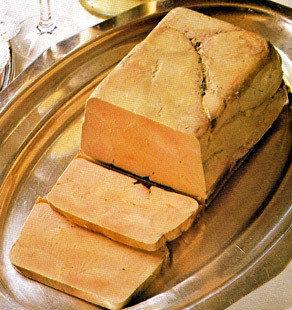 100% Whole Duck Foie Gras  Terrine (pork free) - 0.50 lb.