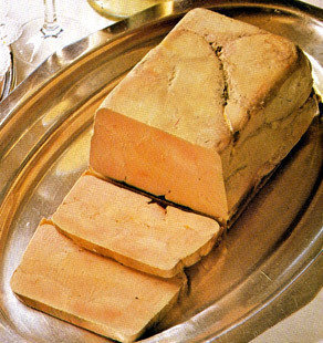 100% Whole Duck Foie Gras  Terrine (pork free) - 0.50 lb.
