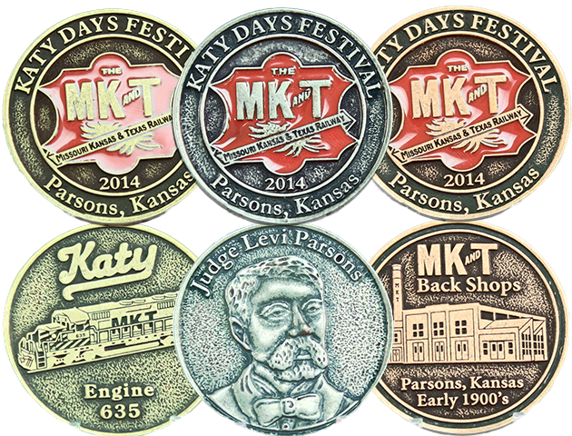 2014 Katy Days Collectors Coin Set