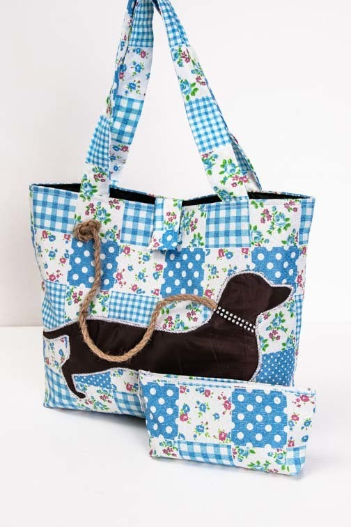 Bright Handmade Bags - Long Handles - 5 Colours