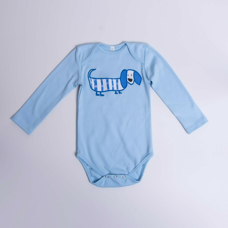 Dachshund Baby Vest – Long Sleeve – Cool Dog 4