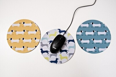 ​ROUND MOUSE PADS / POT STANDS