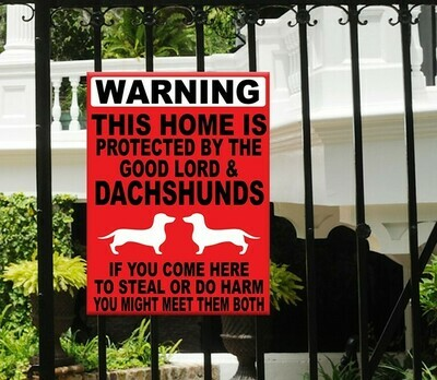This Home is Protected Sign