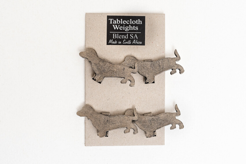 Tablecloth Weights - Set of 4