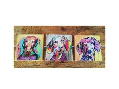 Original Painting - Set of 3
